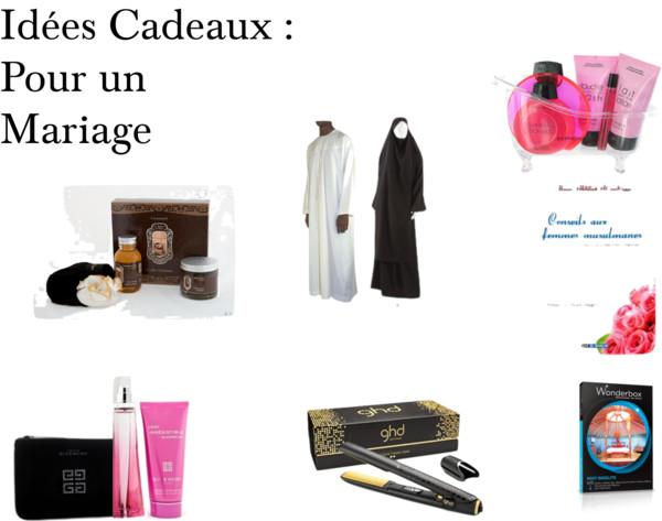 Turbo Idées Cadeaux pour un Mariage Musulman - Mouslima Avenue Magazine LX78