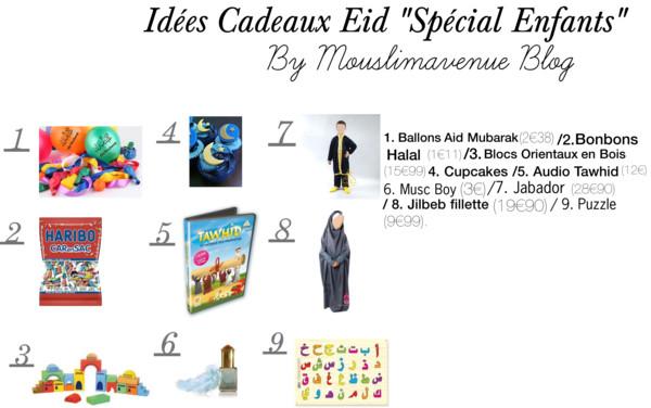 idées cadeaux eid 2013