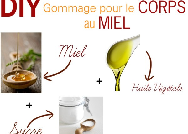 DIY Gommage corps naturel facile