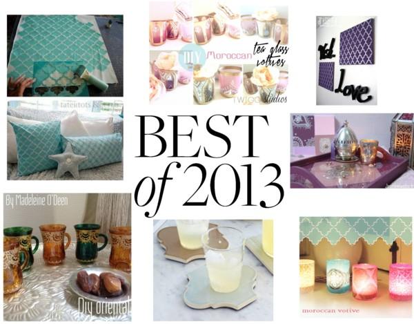 le meilleur du diy oriental 2013 mouslima avenue magazine. Black Bedroom Furniture Sets. Home Design Ideas