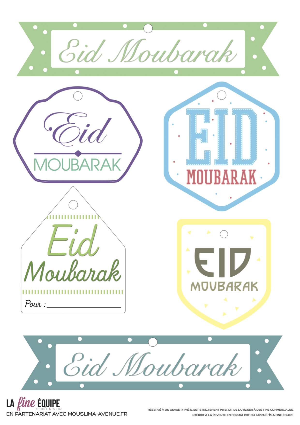 image about Ramadan Cards Printable titled Top Listing of Free of charge Eid Printables (Up-to-date: 2019) AYEINA