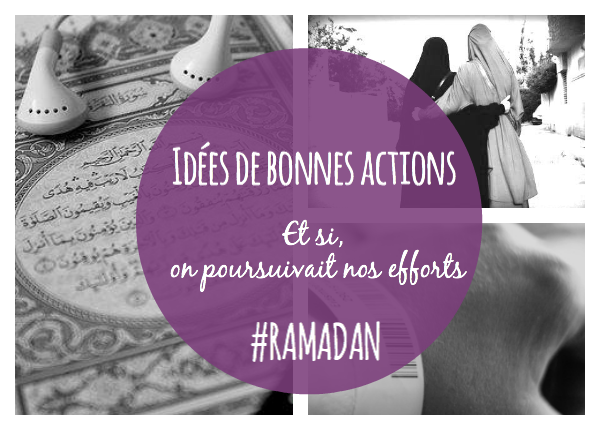 idée d'action ramadan
