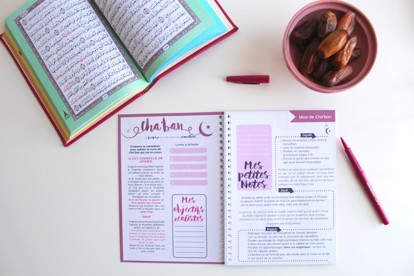 organiseur ramadan
